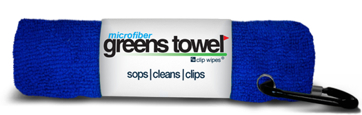 The Convenient Microfiber Golf Towel