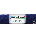 Microfiber Golf Towel Navy Blue