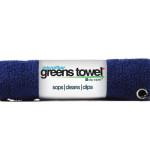 Microfiber Golf Towel Navy Blue