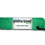 Microfiber Golf Towel Green