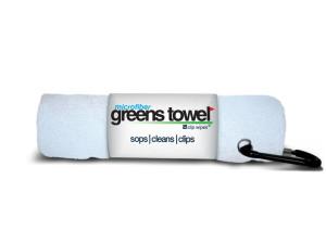 Microfiber Golf Towel White