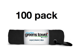 Golf Tournament Towels Black