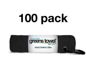 Golf Tournament Towels Black
