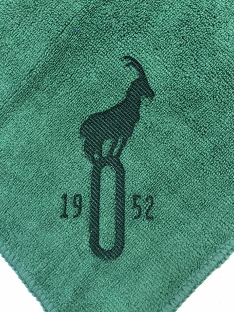 Green Golf Towel Laser Etch