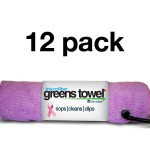 Awareness Pink Greens Towel 12 Pack