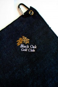 Golf Towels Embroidered