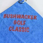 Imprinted Microfiber Golf Towels