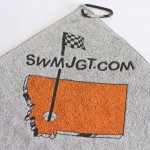 Imprinted Microfiber Golf Towel