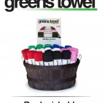 72 Assorted Greens Towel Starter Pack