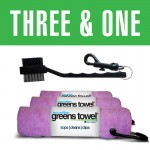 Awareness Pink Greens Towel 3&1