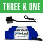 Greens Towel 3&1 Royal Blue Combo