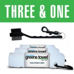 Greens Towel Pure White 3&1