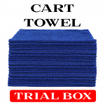 Royal Blue Cart Towel Trial Box