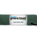 Microfiber Golf Towel Forest Green
