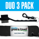 Duo Jet Black 3 Pack