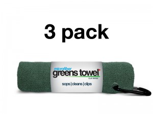 Pine Forest 3 Pack of Greens Towels