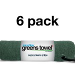 Pine forest 6 Pack of Greens Towels