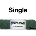 Single Pine Forest Greens Towel