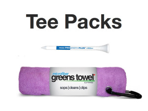 Golf Tournament Towel and Tees