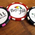 Golf Poker Chips