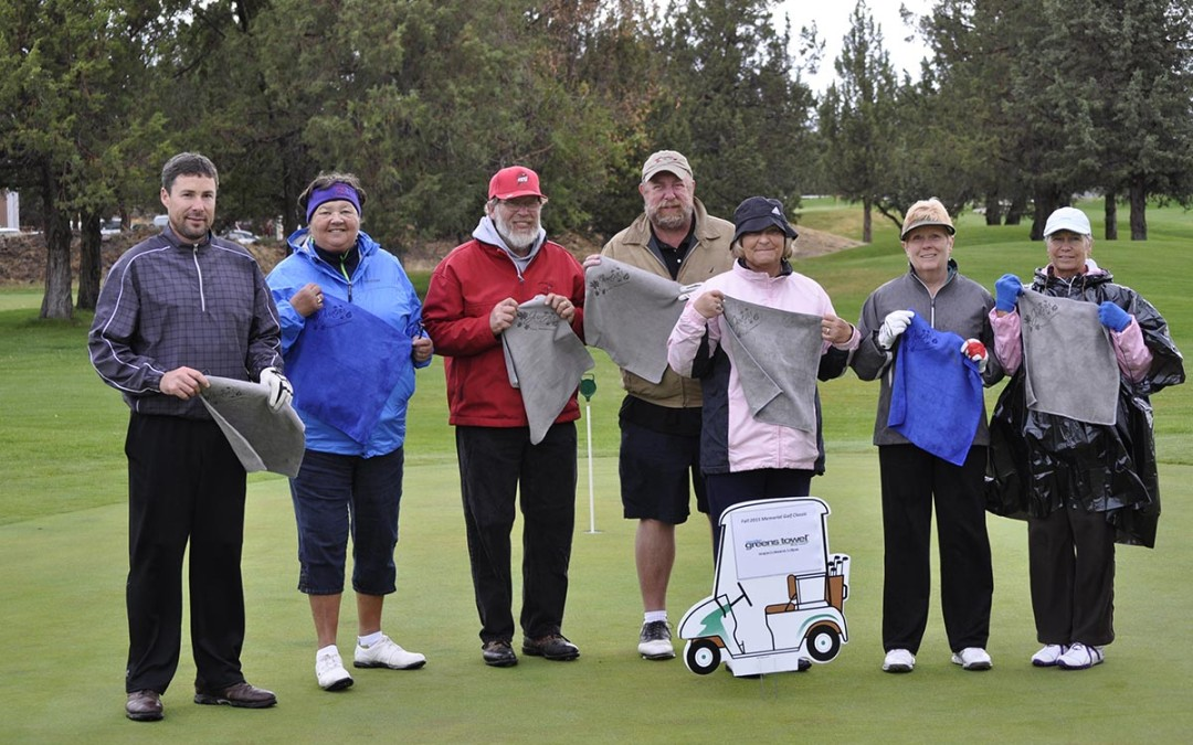 Juneau Juniors Golf Club Loves Greens Towels
