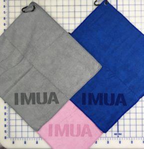 Assorted color mix custom laser etch logo bottom corner