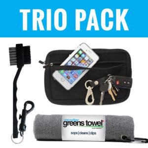 Golfer Trio Pack Sterling Silver