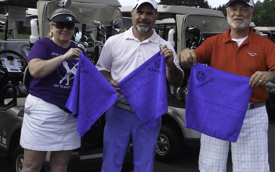 Greens Towel Donates To Kiwanis Foundation