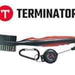 Terminator golf club brush red
