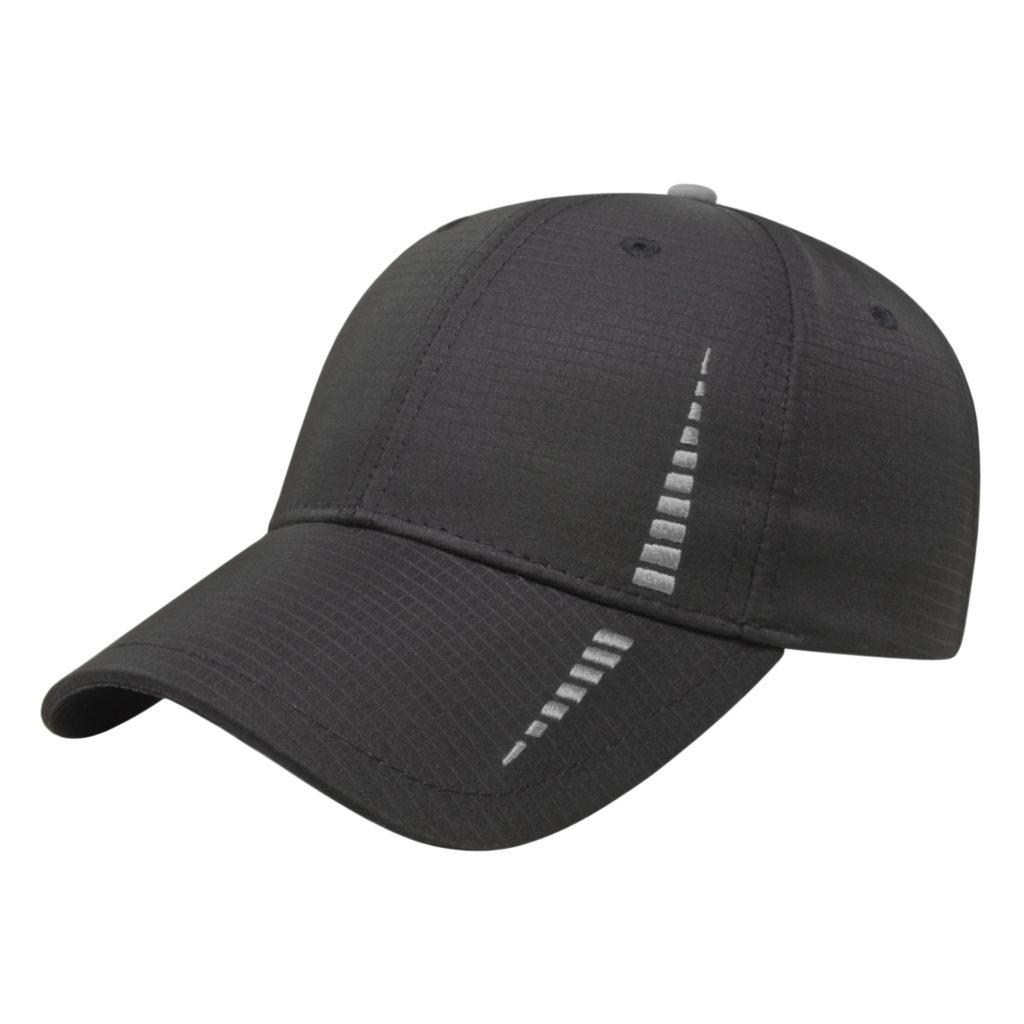 e83c23c74 Golf Tournament Gifts Caps Black-Gray Custom Logo Golf Cap