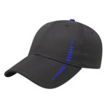 Performance Golf Cap Black-Royal