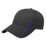 Performance Golf Cap Black-Royal