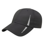 Performance golf cap Black-White