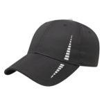 Performance golf cap Black-White