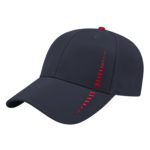 Performance Golf Cap -Navy-Red