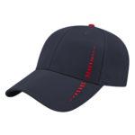 Performance Golf Cap -Navy-Red