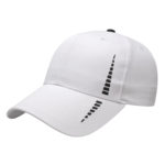 White-Black Performance Golf Cap