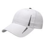 White-Black Performance Golf Cap