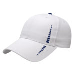 Performance golf cap white-navy