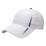 Performance golf cap white-navy