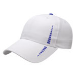 Performance Golf Cap White-Royal