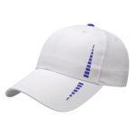 Performance Golf Cap White-Royal