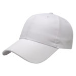 White Golf Outing Caps