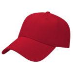 Stretch Fit Red Golf Cap