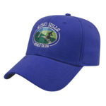 Stretch Fit Royal Blue Golf Cap