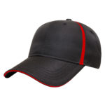Golf Outing Hats Black-Red