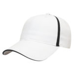 Golf Outing Hats White-Black