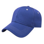 Contrast Stitch Royal Blue Golf Outing Hats