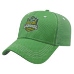 Green Diamond Mesh Perfromance Hat