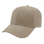 Modified Flat Bill Golf Cap Khaki
